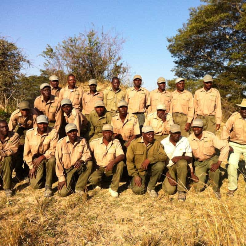 Imire Anti Poaching Team