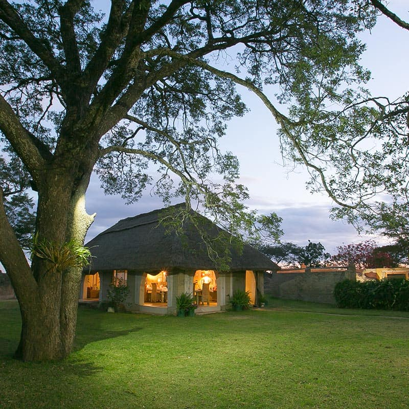 Imire Lodge Accom Garden