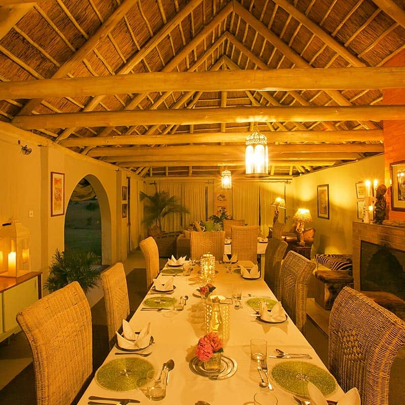 Imire Lodge Dining Room