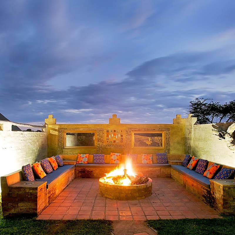 Imire Lodge Fire Pit