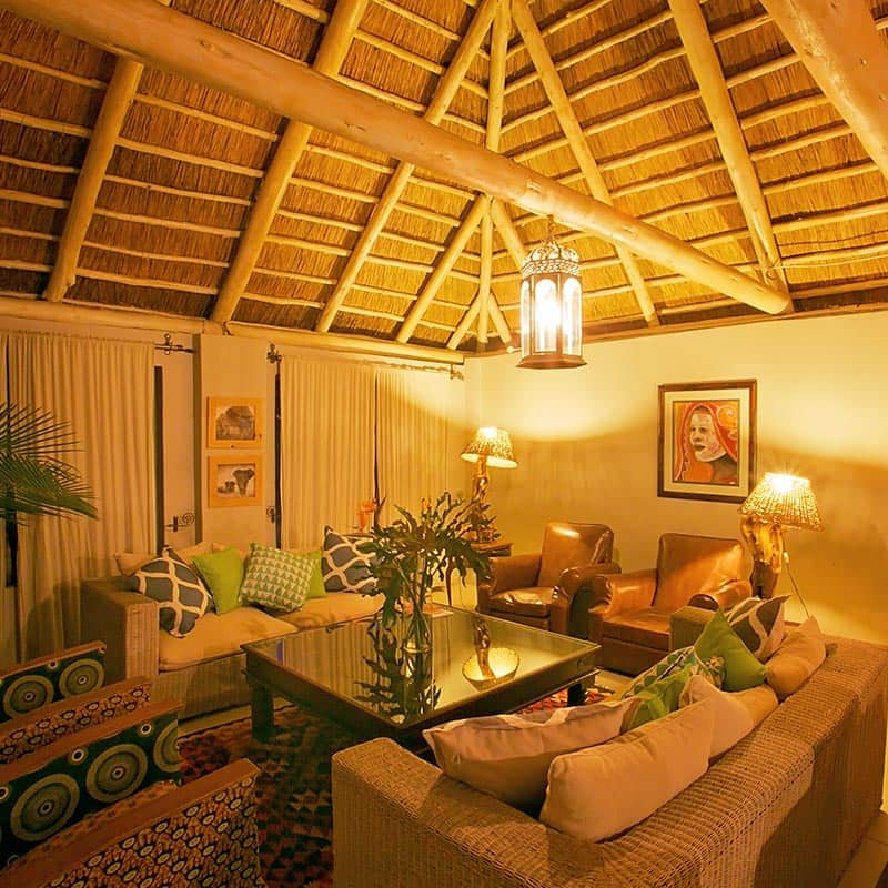 Imire Lodge Lounge