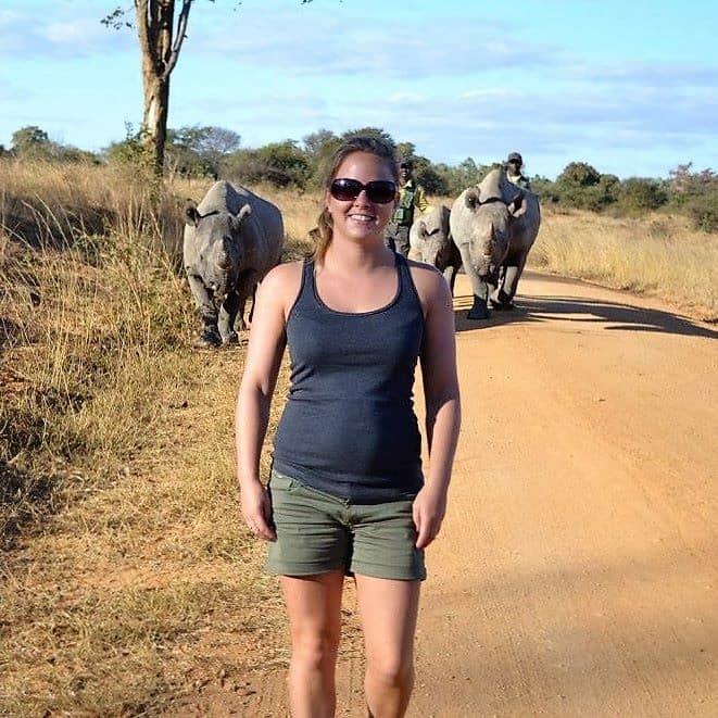 VOLUNTEER IN AFRICA WITH BLACK RHINO 1