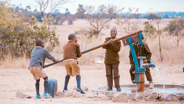 Community School Children Imire Game Reserve
