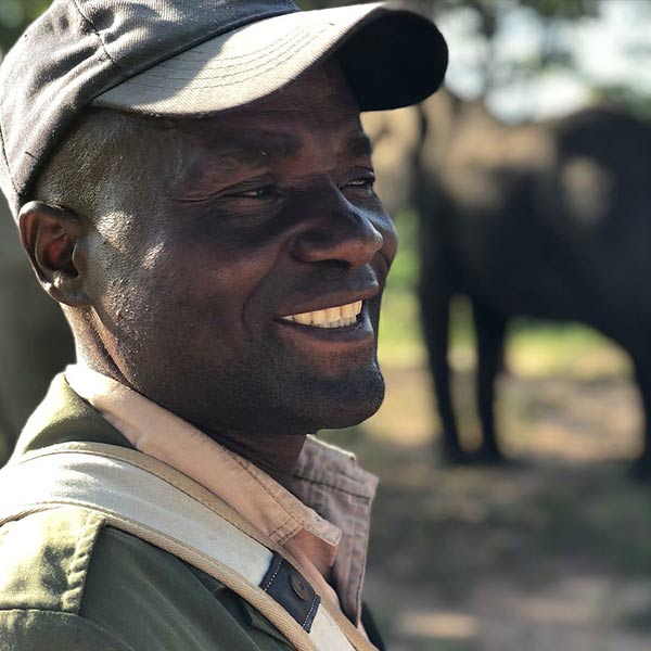 Elephant Handler People Of Imire Game Reserve