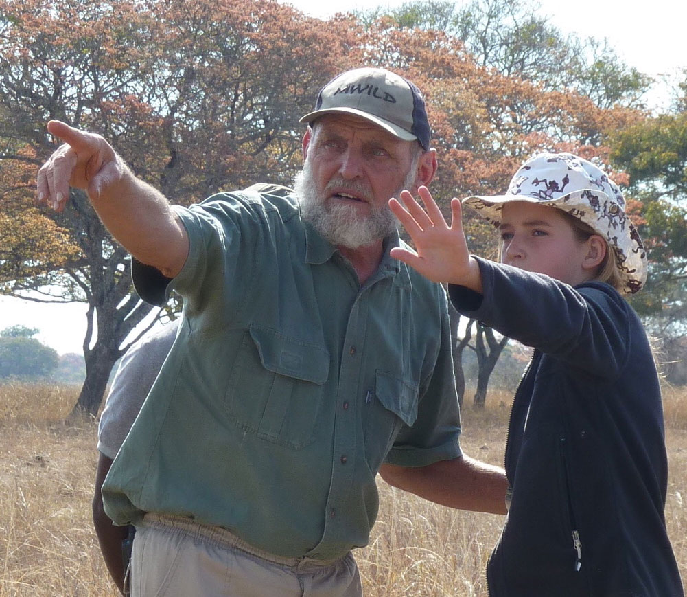 Wildlife Course leader-Dolf