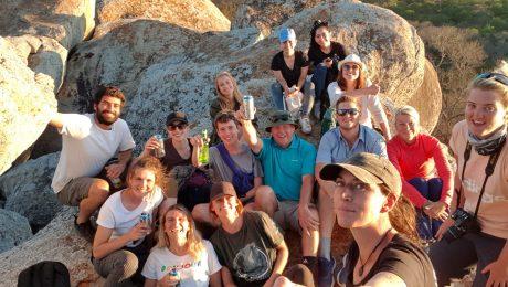 October volunteer group