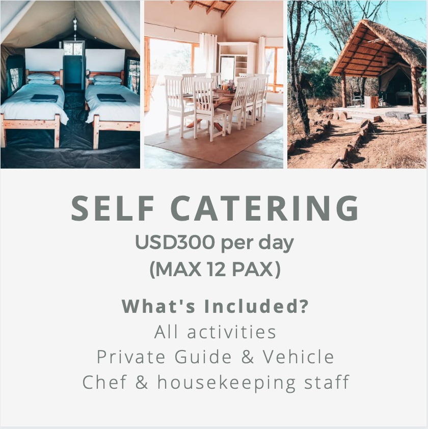 Self catering pricing