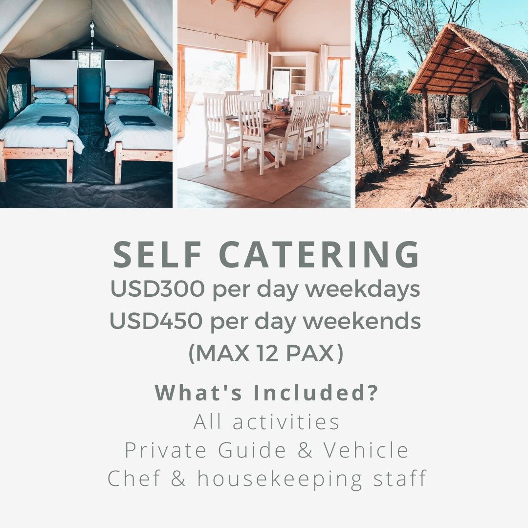 Self catering at Imire
