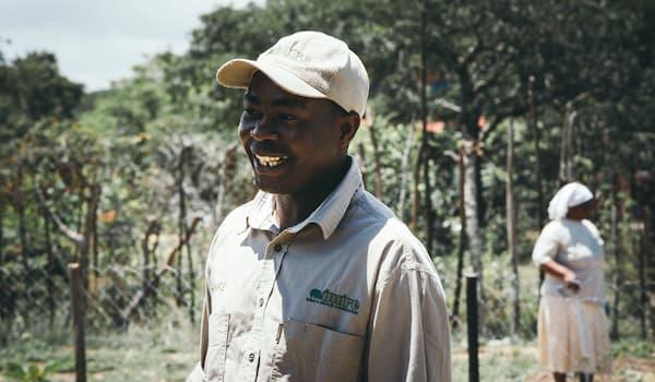 Safari guide at Imire in Zimbabwe